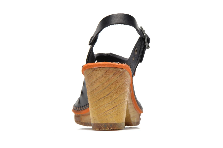 Sandali e scarpe aperte Art Amsterdam 335 Nero immagine destra