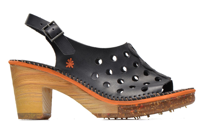 Sandali e scarpe aperte Art Amsterdam 335 Nero immagine posteriore
