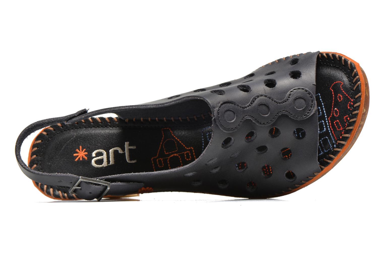 Sandali e scarpe aperte Art Amsterdam 335 Nero immagine sinistra