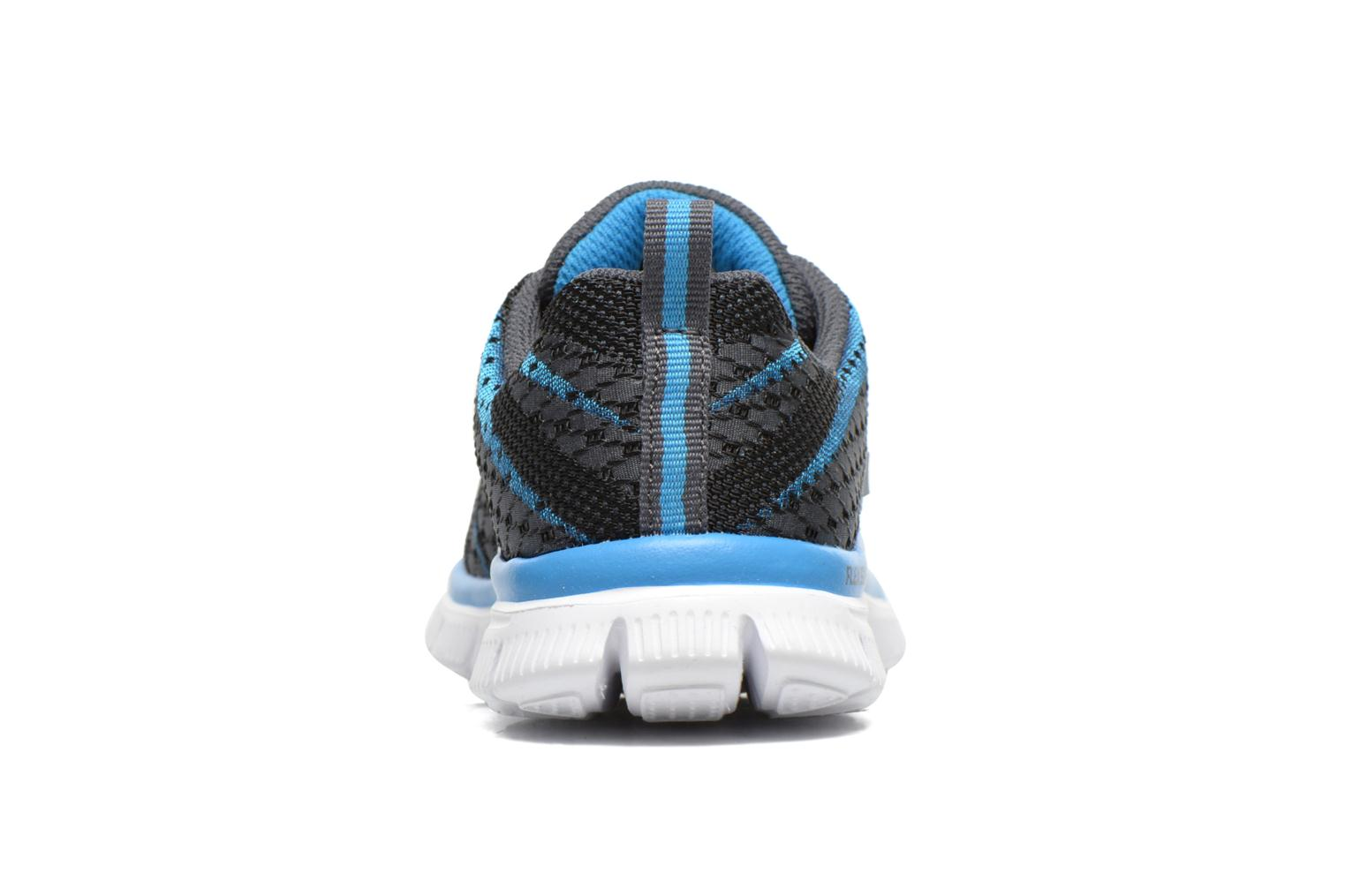 Trainers Skechers Flex Advantage Paybacks Blue view from the right