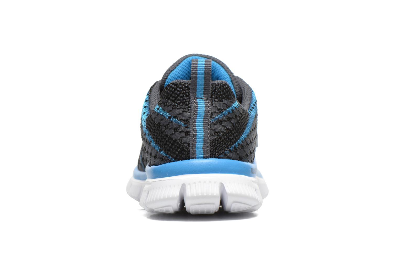 Baskets Skechers Flex Advantage Paybacks Bleu vue droite