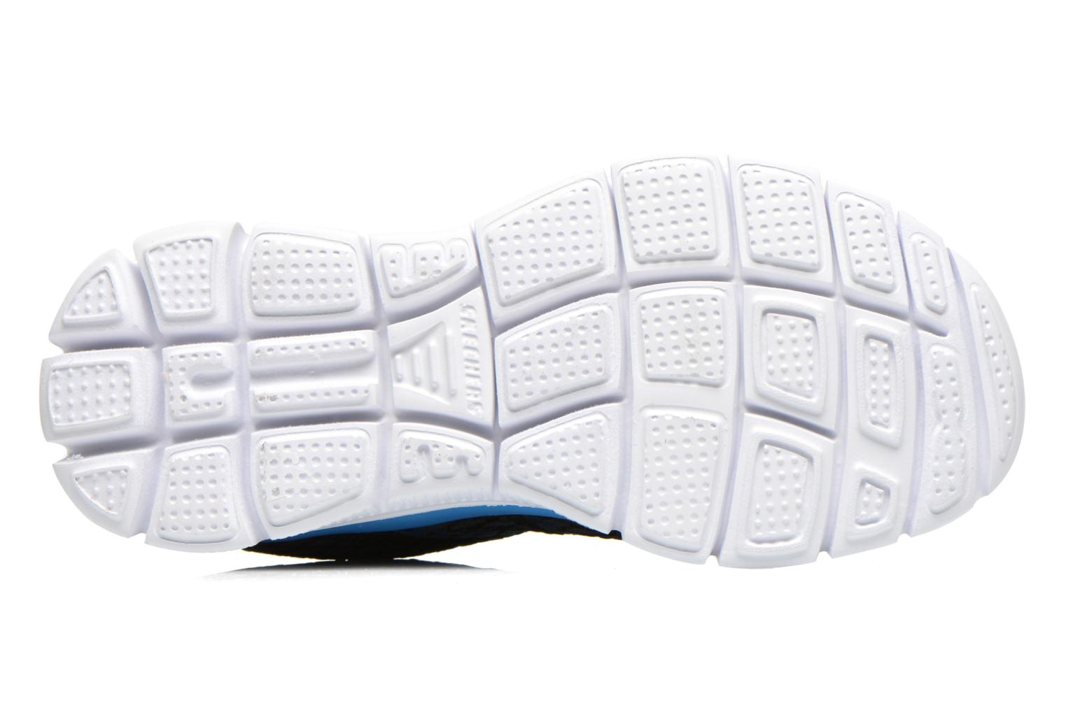 Trainers Skechers Flex Advantage Paybacks Blue view from above