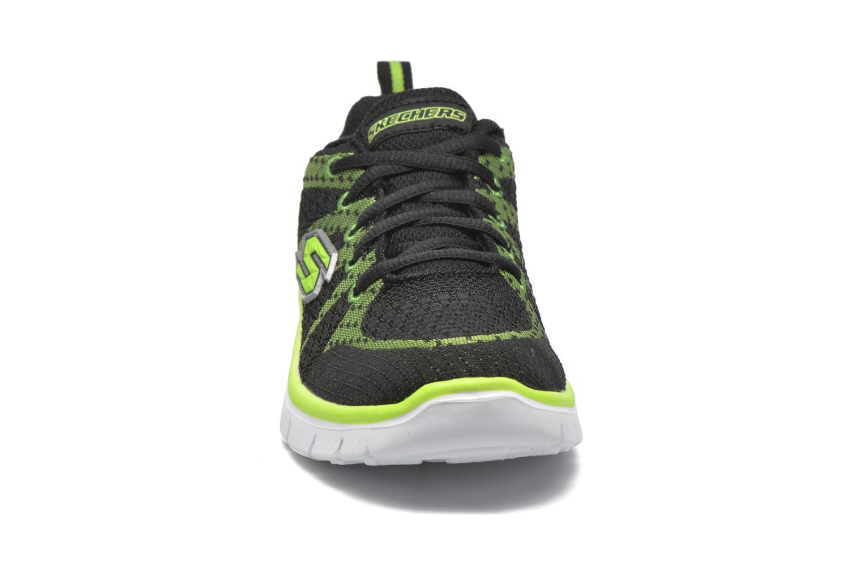 Sneaker Skechers Flex Advantage Paybacks schwarz schuhe getragen
