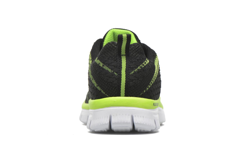 Sneaker Skechers Flex Advantage Paybacks schwarz ansicht von rechts