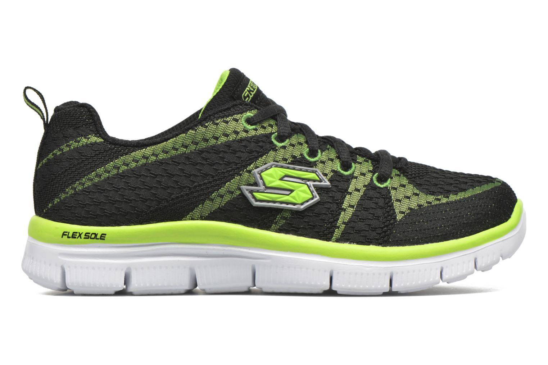 Sneaker Skechers Flex Advantage Paybacks schwarz ansicht von hinten