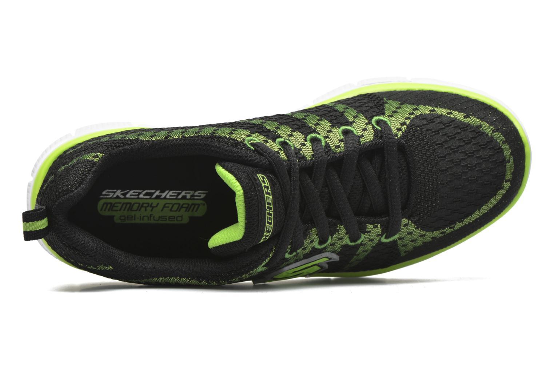 Sneakers Skechers Flex Advantage Paybacks Svart bild från vänster sidan