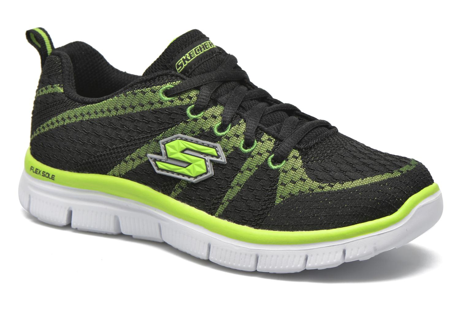 Baskets Skechers Flex Advantage Paybacks Noir vue détail/paire