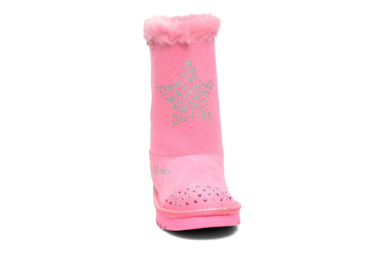 Stiefel Skechers Keepsakes Fufu kids rosa schuhe getragen