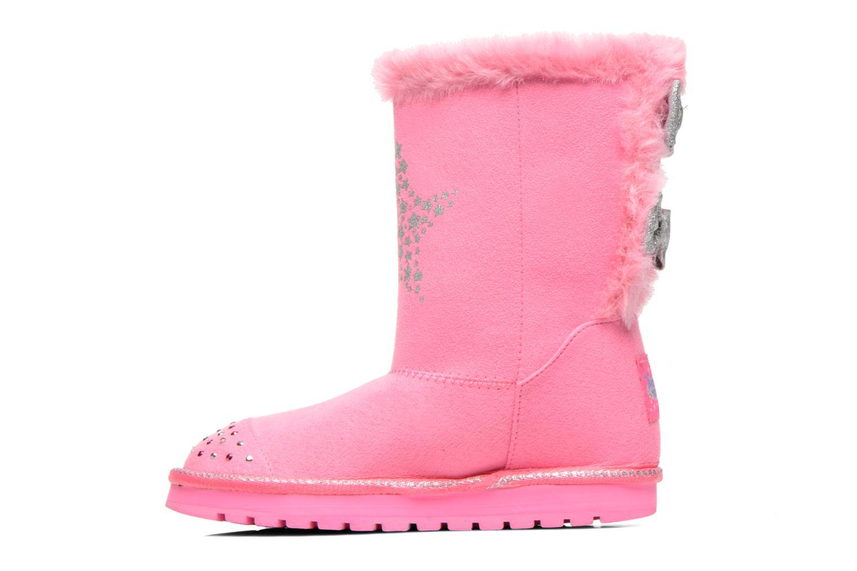 Boots & wellies Skechers Keepsakes Fufu kids Pink front view