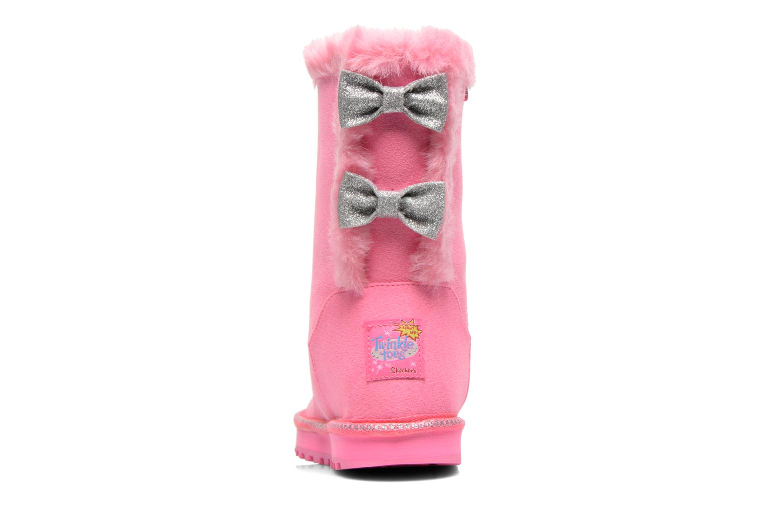 Boots & wellies Skechers Keepsakes Fufu kids Pink view from the right