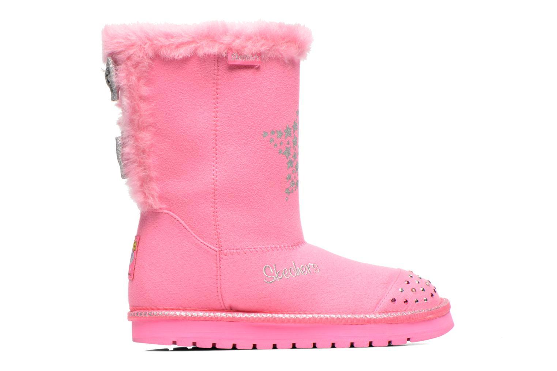 Boots & wellies Skechers Keepsakes Fufu kids Pink back view