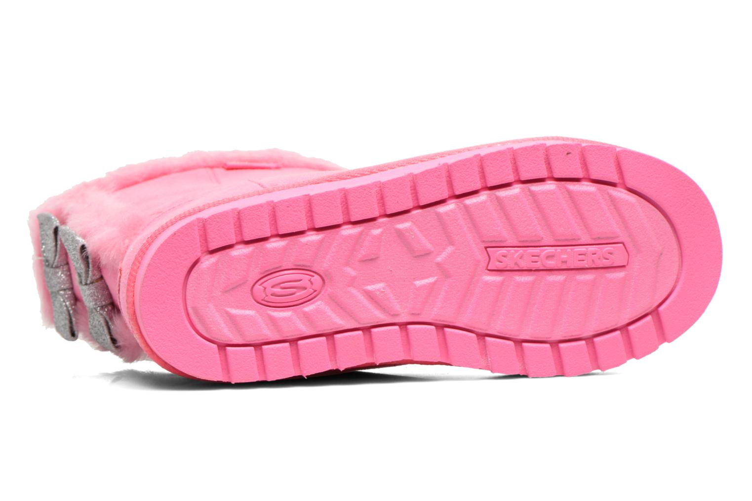 Boots & wellies Skechers Keepsakes Fufu kids Pink view from above