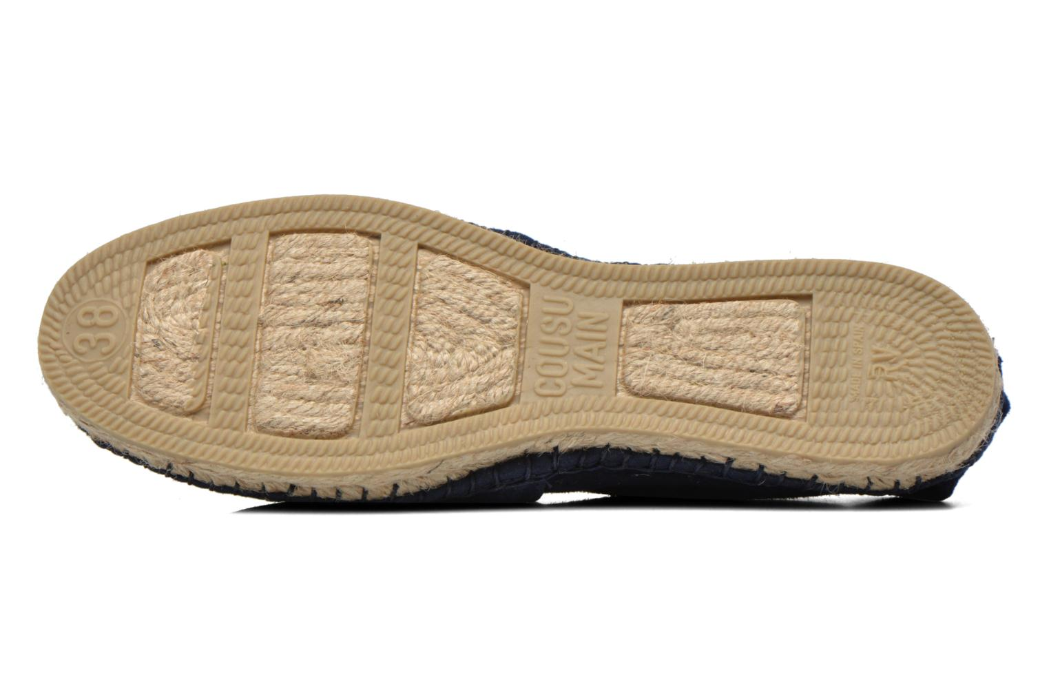 Espadrilles Pare Gabia VP Cuir Blue view from above