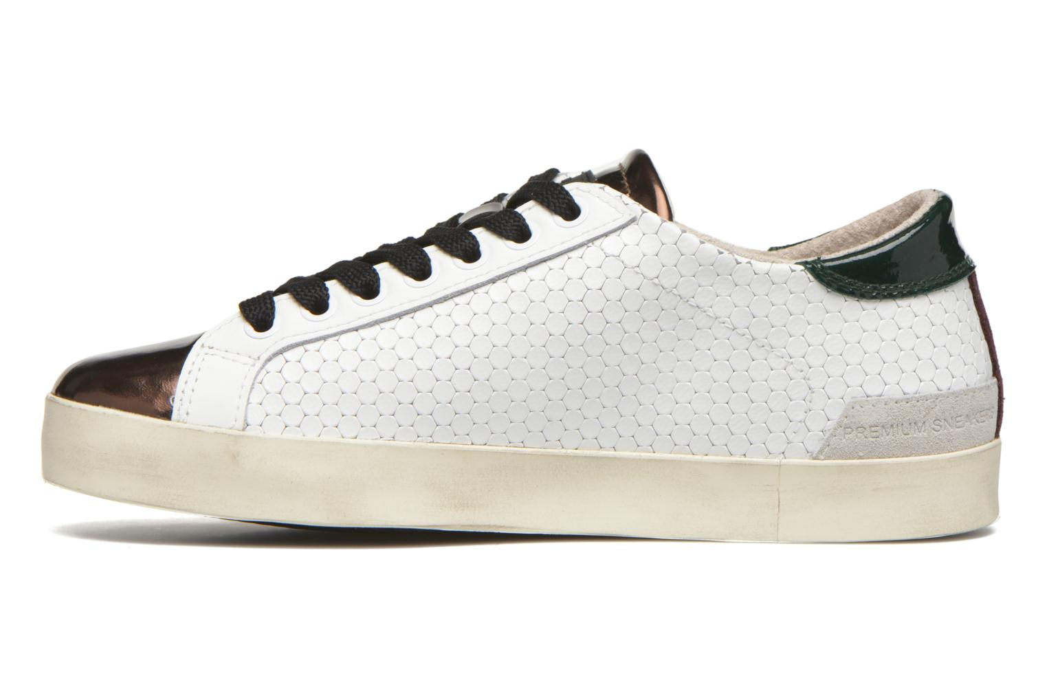 Sneakers D.A.T.E Hill Low Pong Bianco immagine frontale