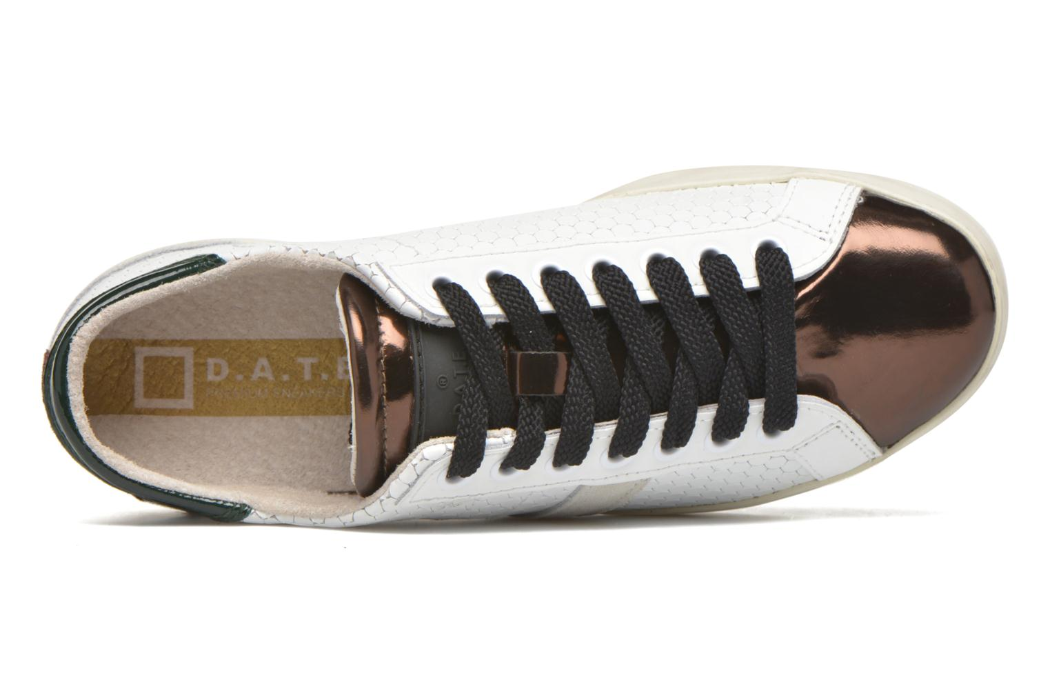 Sneakers D.A.T.E Hill Low Pong Bianco immagine sinistra