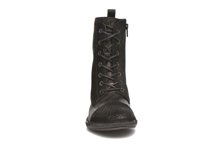 Bottines et boots Khrio Sylvia Noir vue portées chaussures