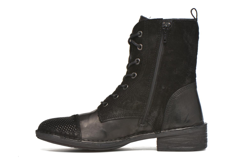 Bottines et boots Khrio Sylvia Noir vue face