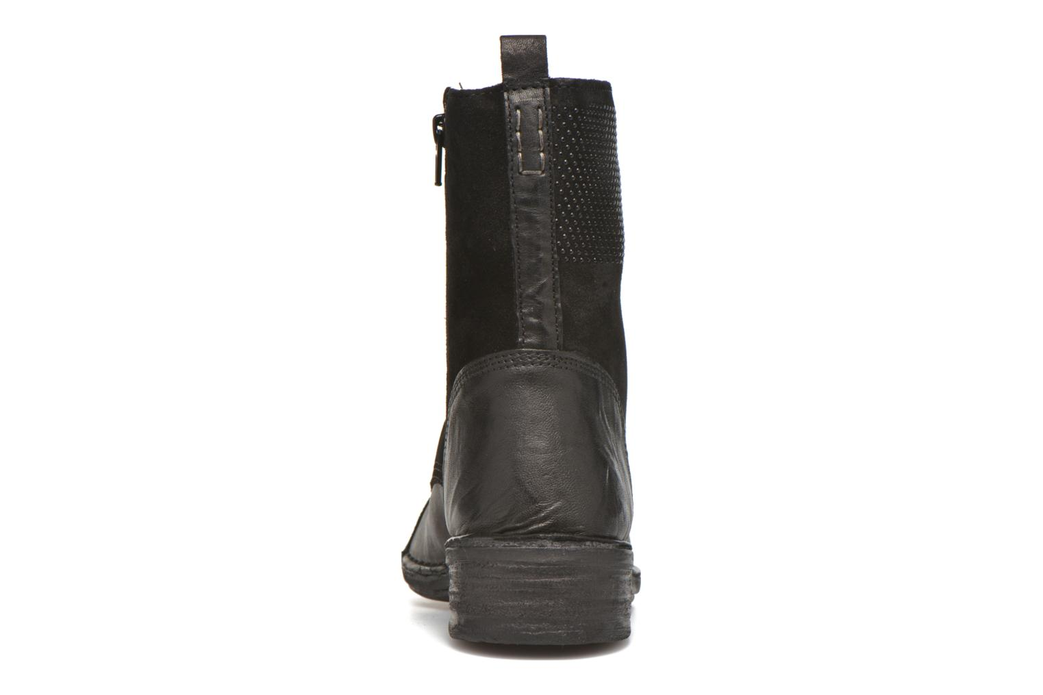 Ankle boots Khrio Sylvia Black view from the right