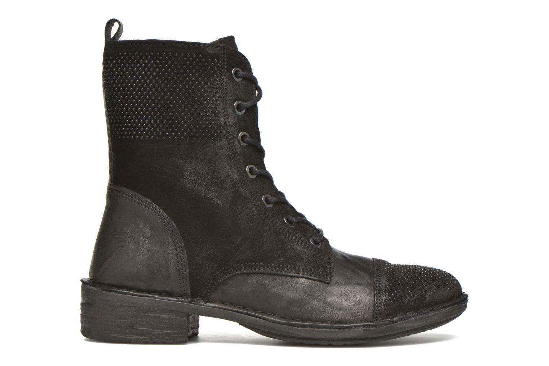 Bottines et boots Khrio Sylvia Noir vue derrière