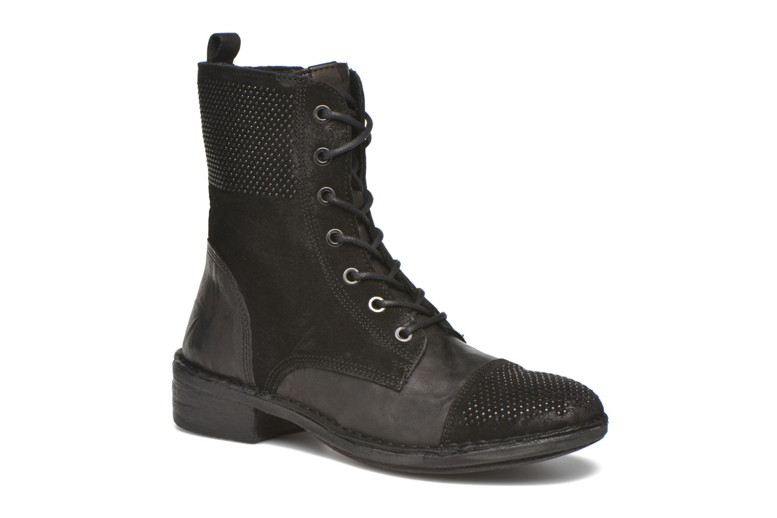 Ankle boots Khrio Sylvia Black detailed view/ Pair view
