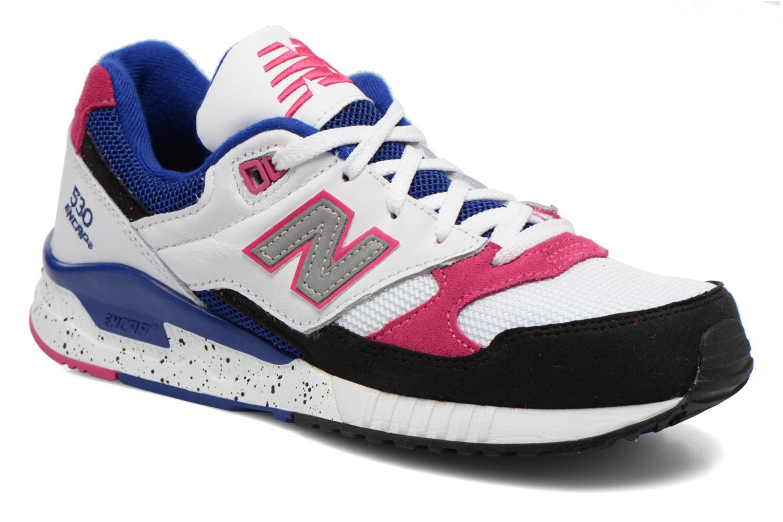 Sneakers New Balance W530 Vit detaljerad bild på paret