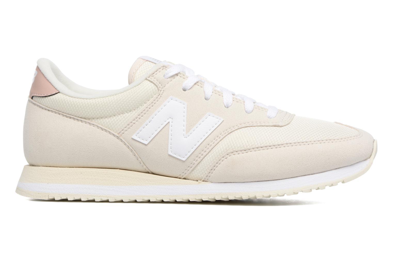 Sneaker New Balance CW620 weiß ansicht von hinten