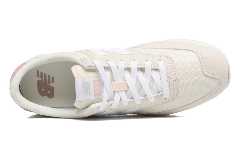 Sneaker New Balance CW620 weiß ansicht von links