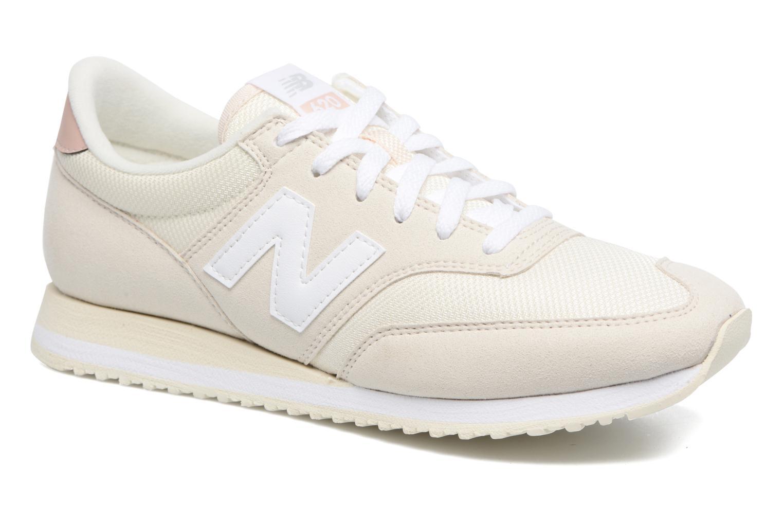 new balance beige et blanche