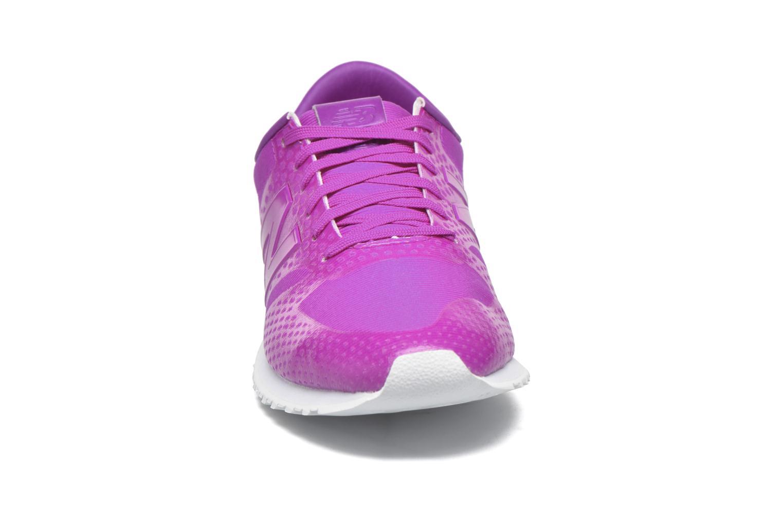 Baskets New Balance WL420 Rose vue portées chaussures