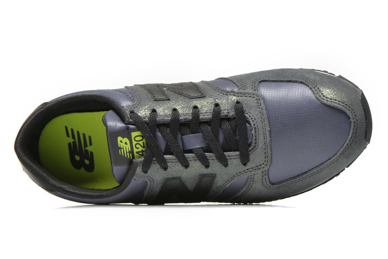 Sneaker New Balance WL420 schwarz ansicht von links