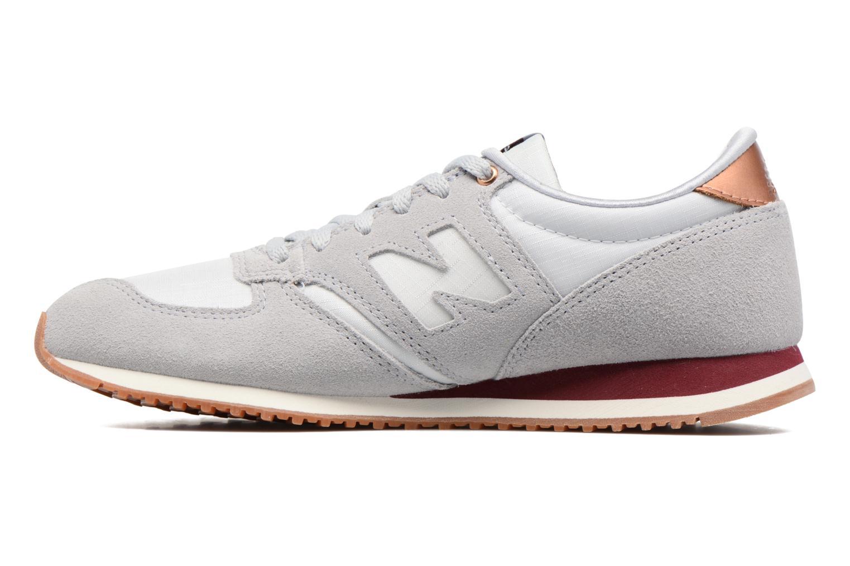 Sneaker New Balance WL420 grau ansicht von vorne