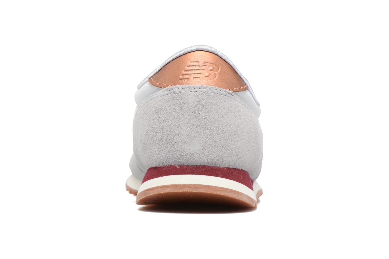 Sneaker New Balance WL420 grau ansicht von rechts