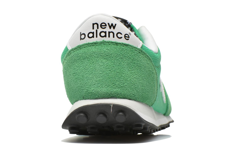 Deportivas New Balance WL410 Verde vista lateral derecha