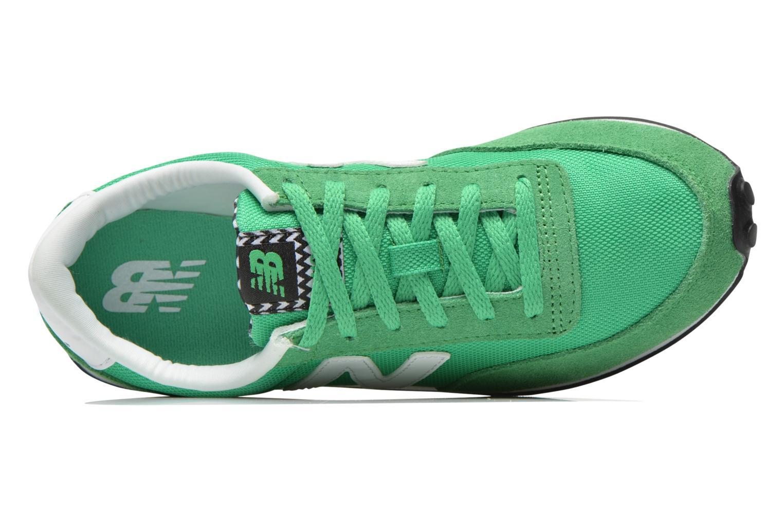 Sneaker New Balance WL410 grün ansicht von links
