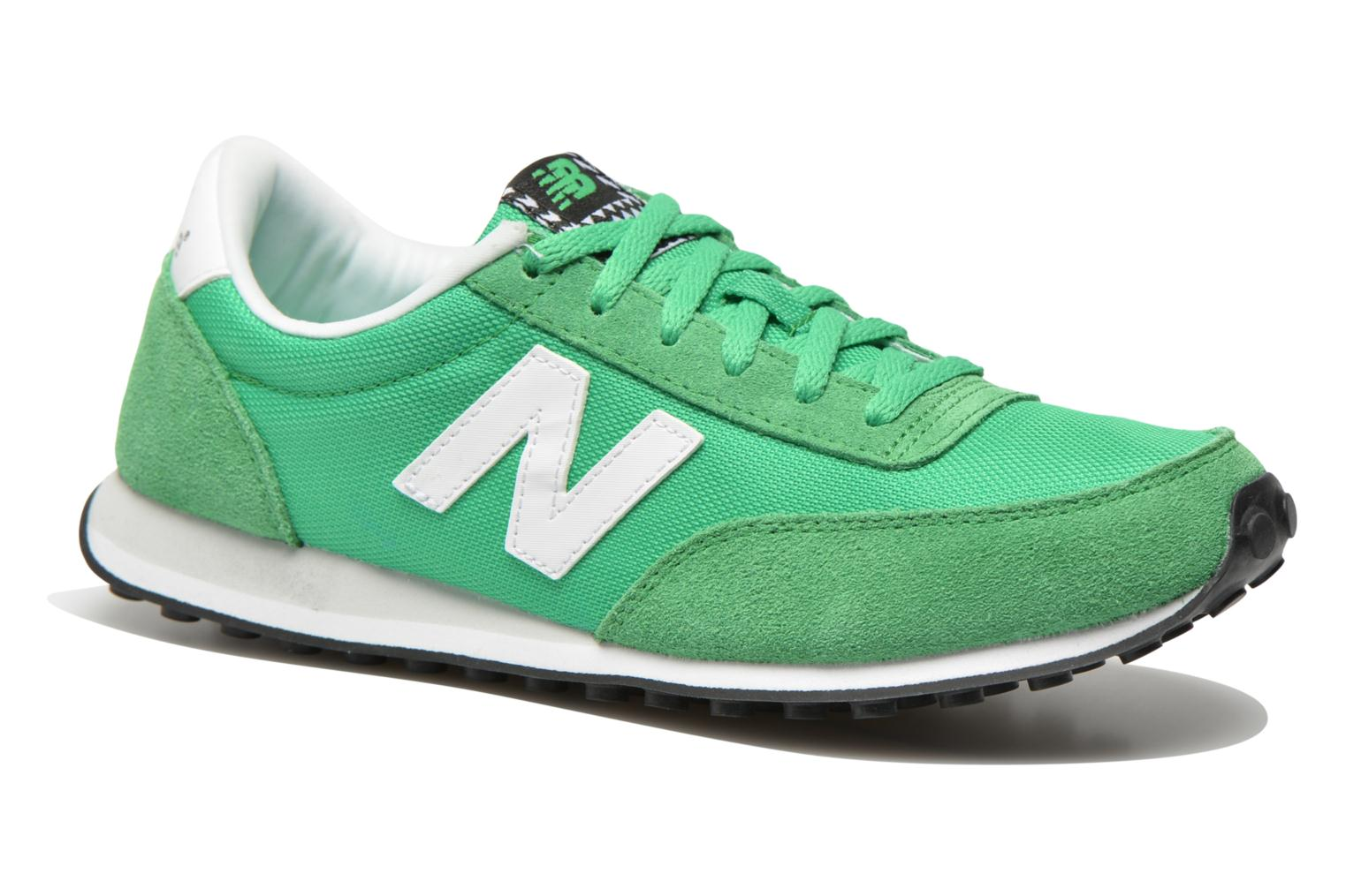 Trainers New Balance WL410 Green detailed view/ Pair view