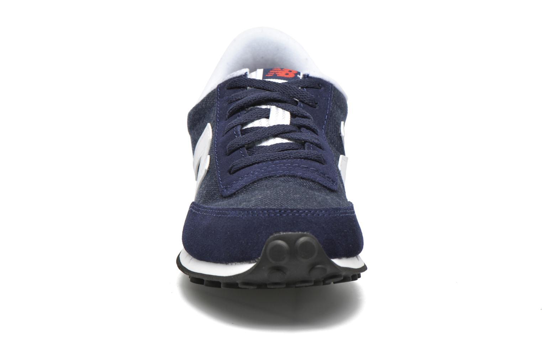Sneaker New Balance WL410 blau schuhe getragen