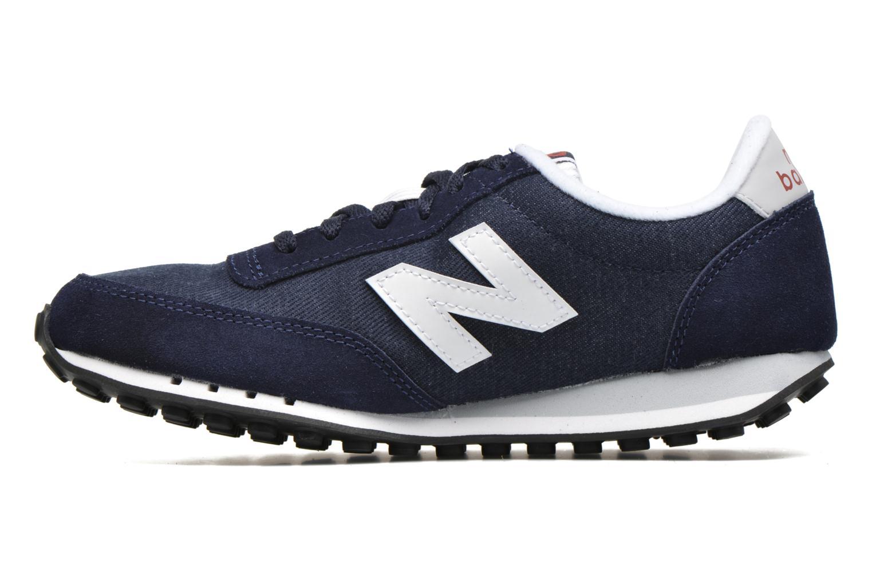 Sneaker New Balance WL410 blau ansicht von vorne