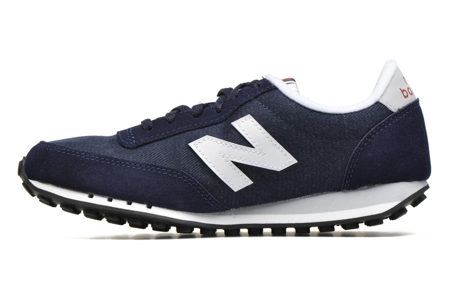 Trainers New Balance WL410 Blue front view