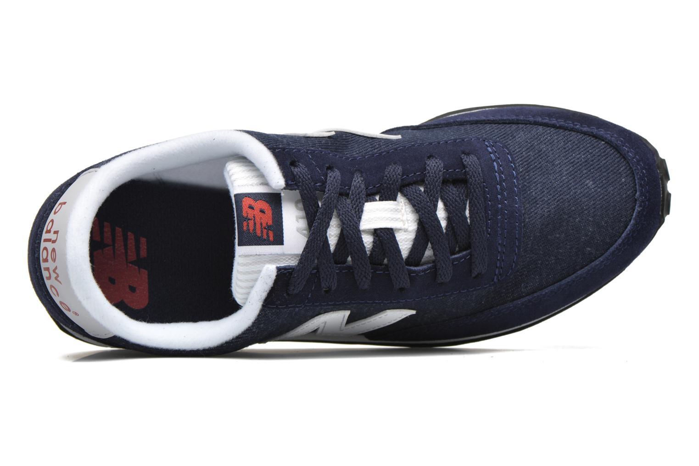 Sneaker New Balance WL410 blau ansicht von links