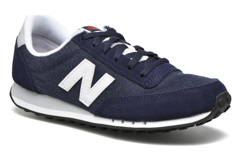 Sneakers New Balance WL410 Blå detaljerad bild på paret