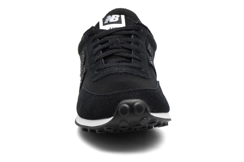 Sneaker New Balance WL410 schwarz schuhe getragen