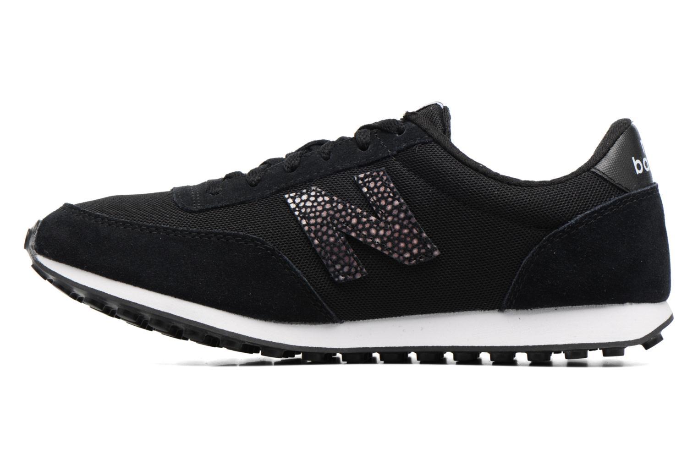 Sneakers New Balance WL410 Zwart voorkant