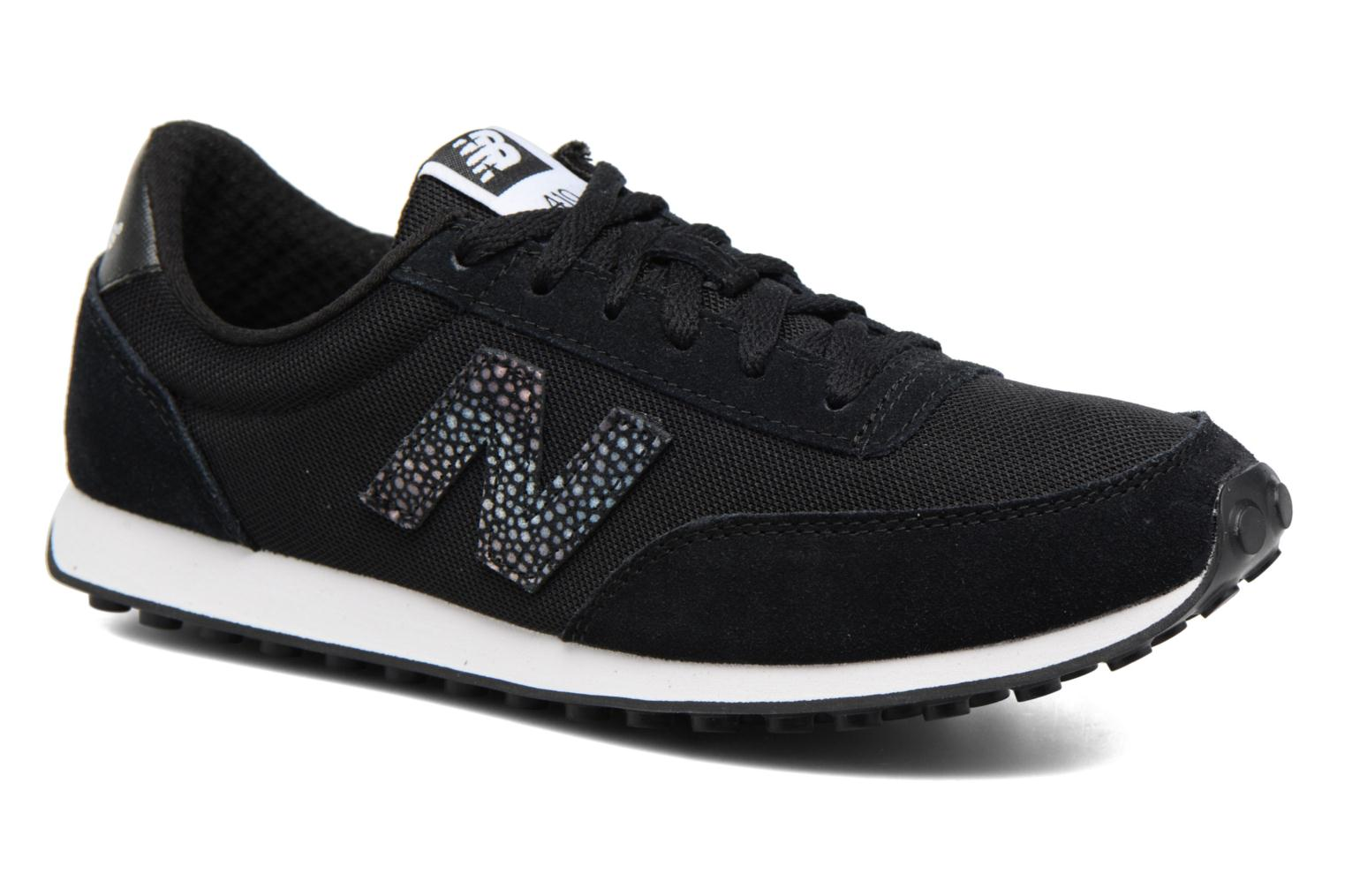 Sneakers New Balance WL410 Zwart detail
