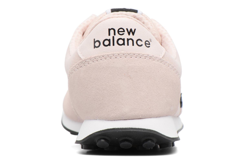 Baskets New Balance WL410 Rose vue droite