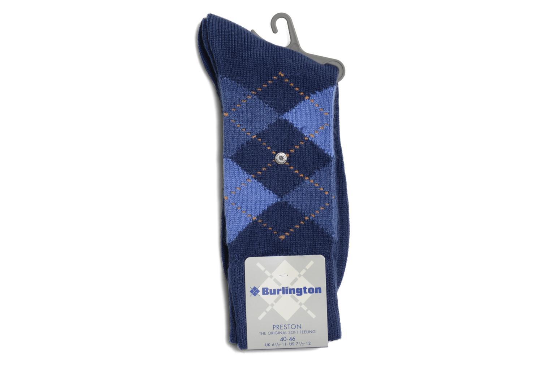 Chaussettes et collants Burlington Chaussettes LOSANGES Bleu vue droite