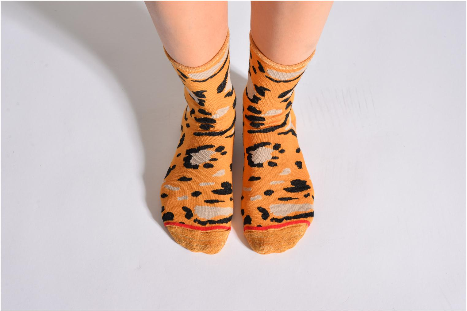 Chaussettes COZY MUSTARD