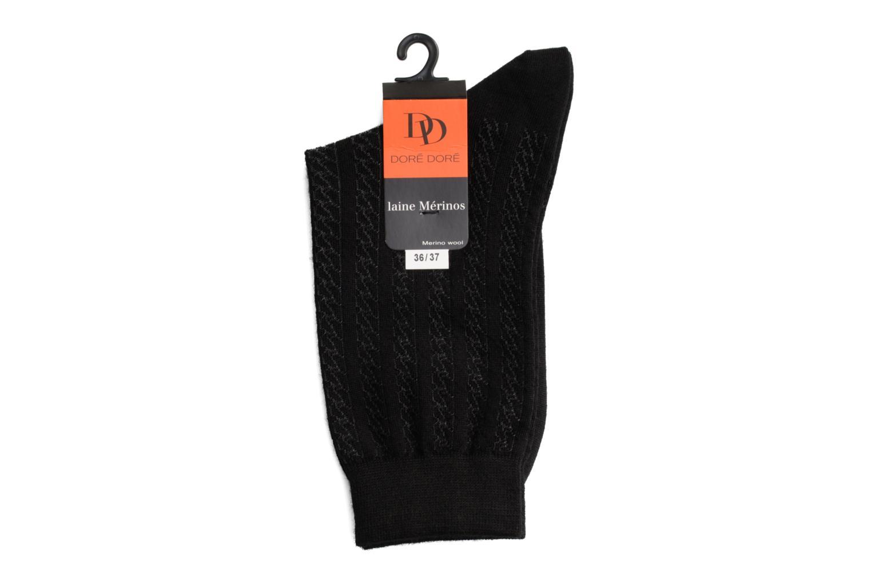 Chaussettes et collants Doré Doré Chaussettes ALLURE Noir vue droite