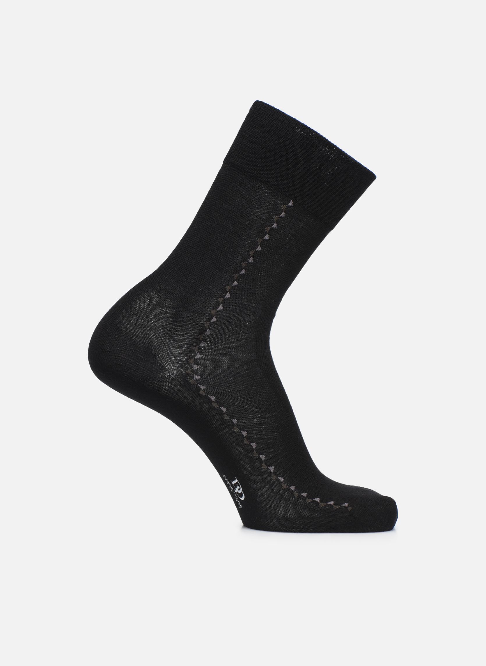 Chaussettes et collants Doré Doré Chaussettes BAGUETTE Noir vue détail/paire