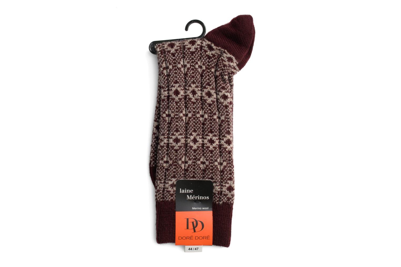 Chaussettes NOBLESSE 052 - bordeaux