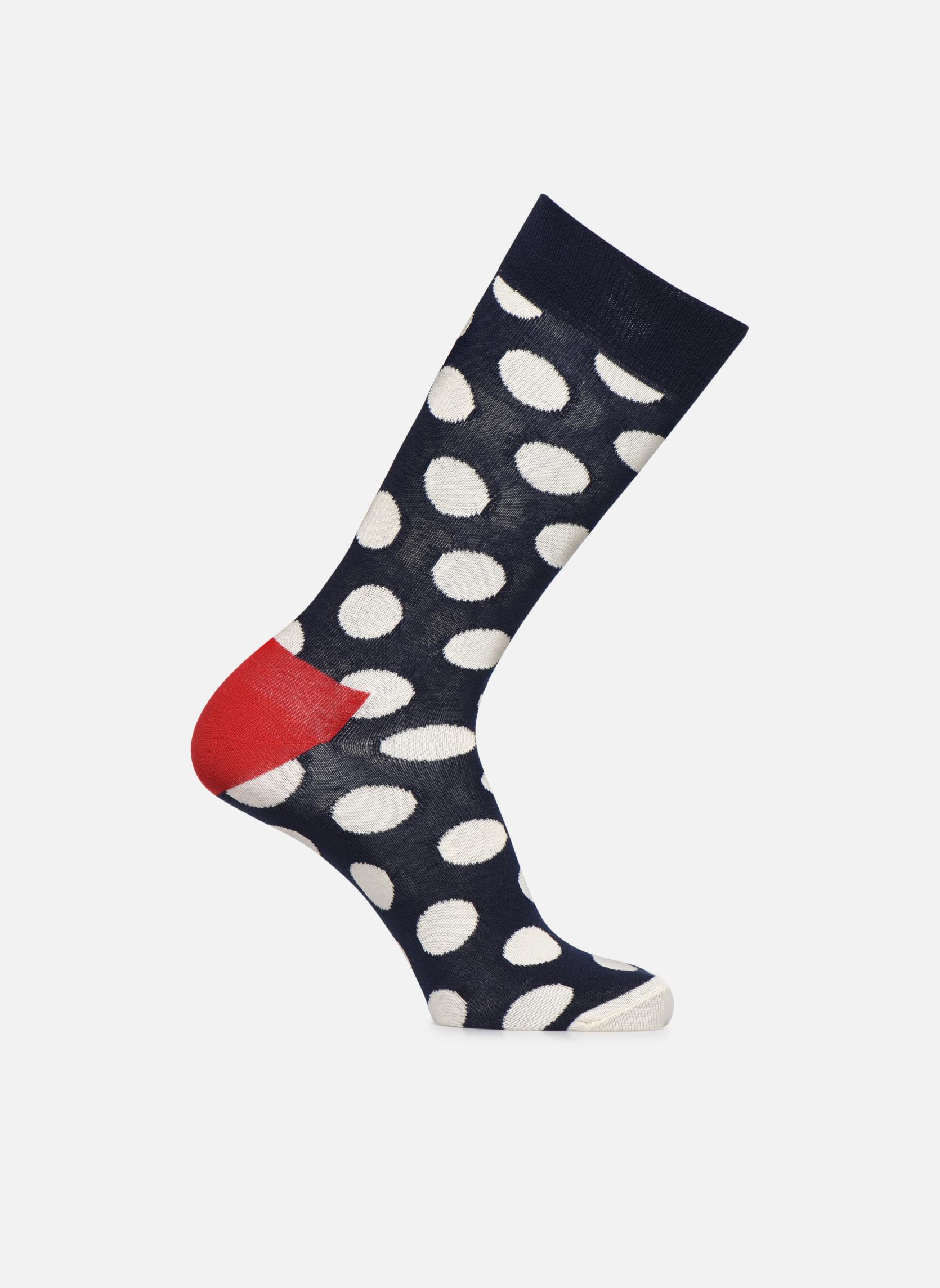 Socken BIG DOT Marine Rouge